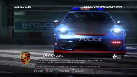 Gara View Car DLC : Cop + Racer