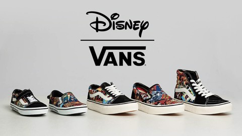 Asian Limited Mickey Mouse x Vans Japan