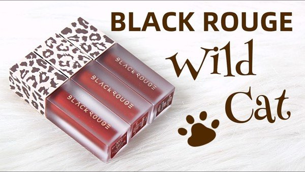 Bộ kit son Black Rouge Wild Cat
