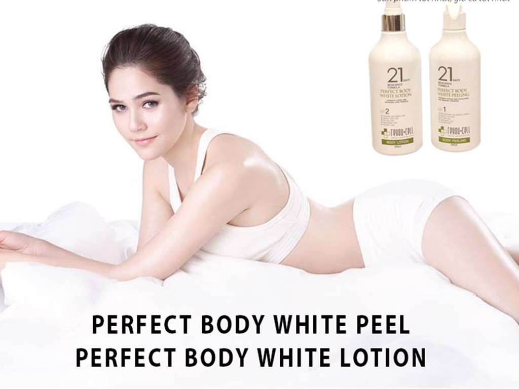 review Tẩy da chết 21day Perfect Body White Peeling