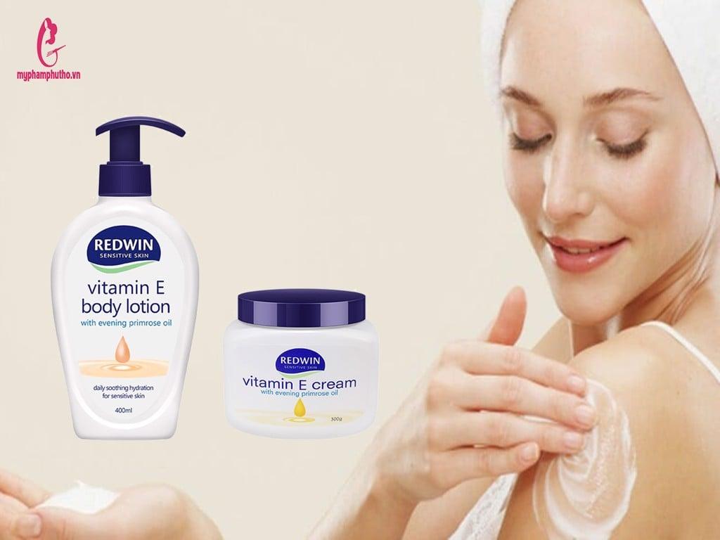 Kem dưỡng nẻ Vitamin E REDWIN Úc