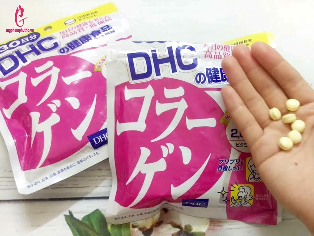 Hướng dẫn sử dụng Viên Uống Collagen DHC của Nhật