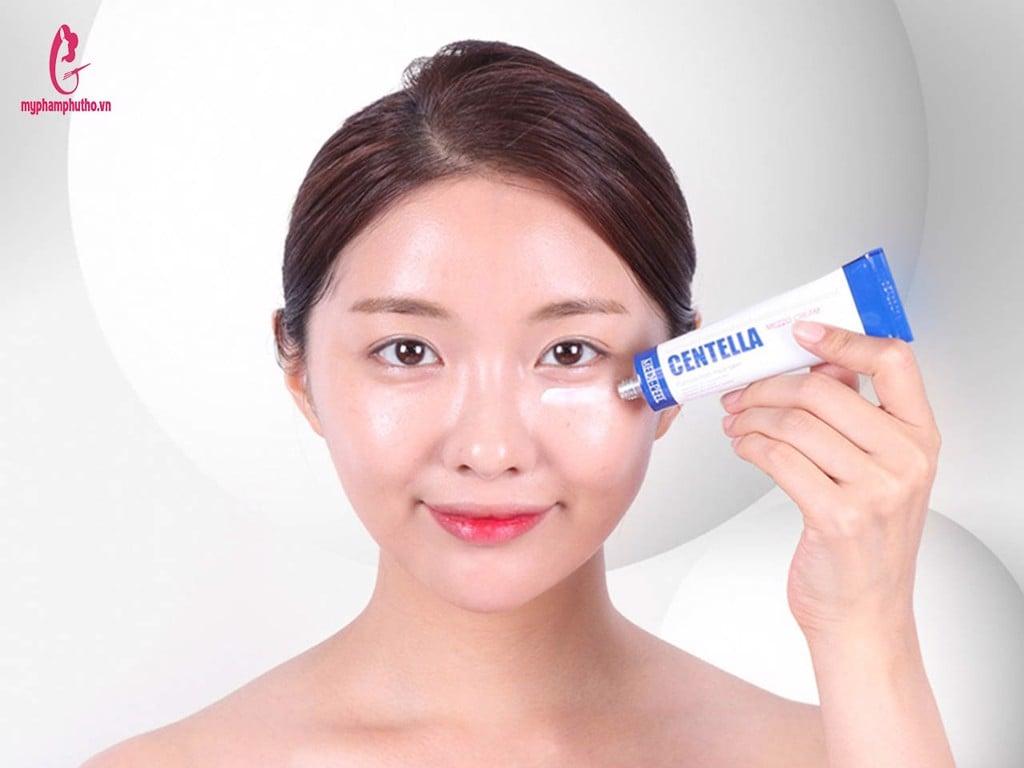 cách sử dụng Kem trị mụn Centella Medi Peel Hàn Quốc