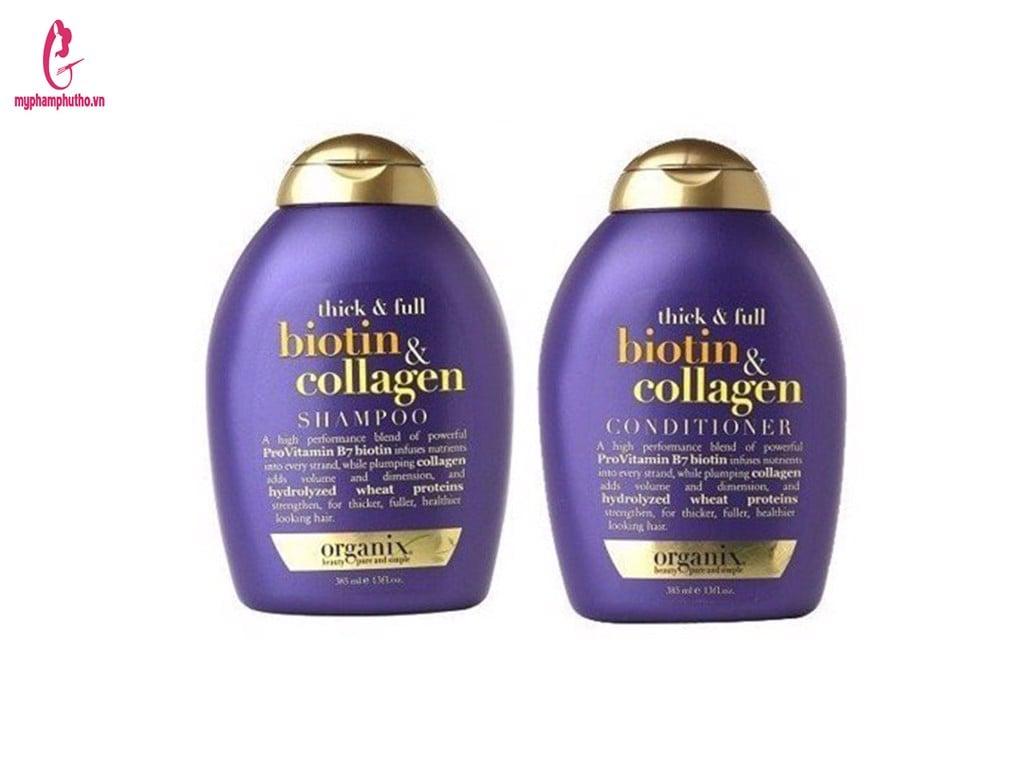 Cặp Dầu Gội Xả Biotin And Collagen USA