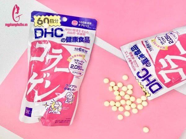 thành phần Viên Uống Collagen DHC của Nhật