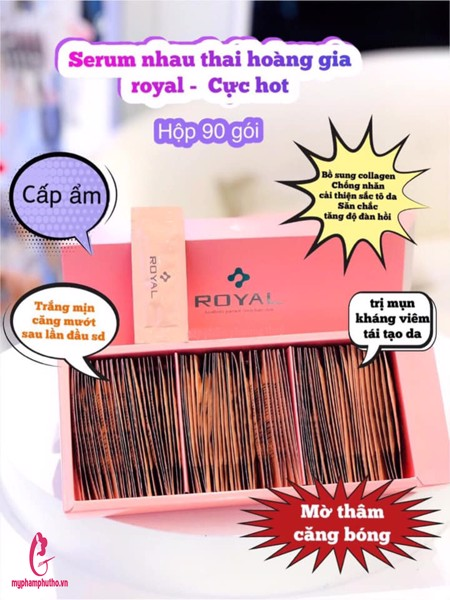 Công dụng serum Royal Large Placenta