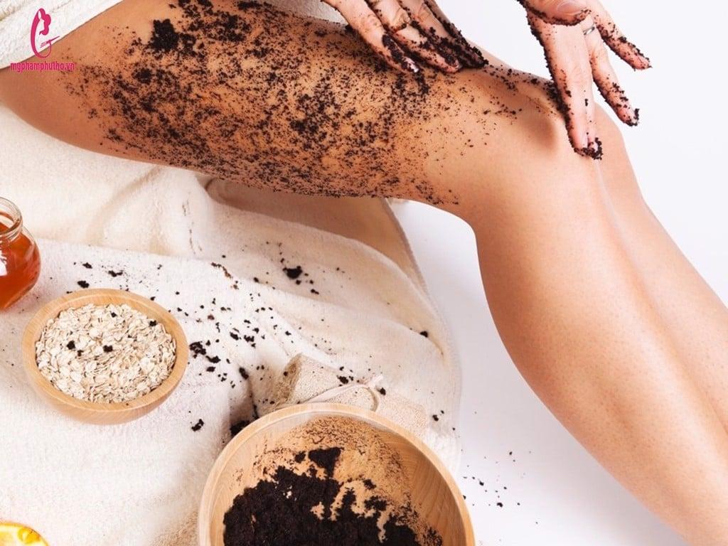 hướng dẫn sử dụng Tẩy da chết toàn thân Organic Coffee & Sugar Body Scrub