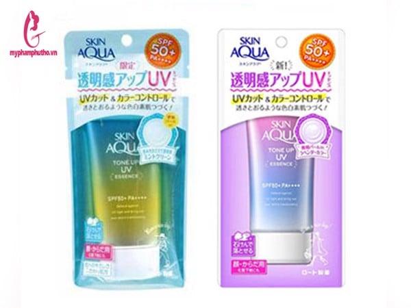 Kem Chống Nắng Skin Aqua Tone Up Essence Rohto Nhật Bản