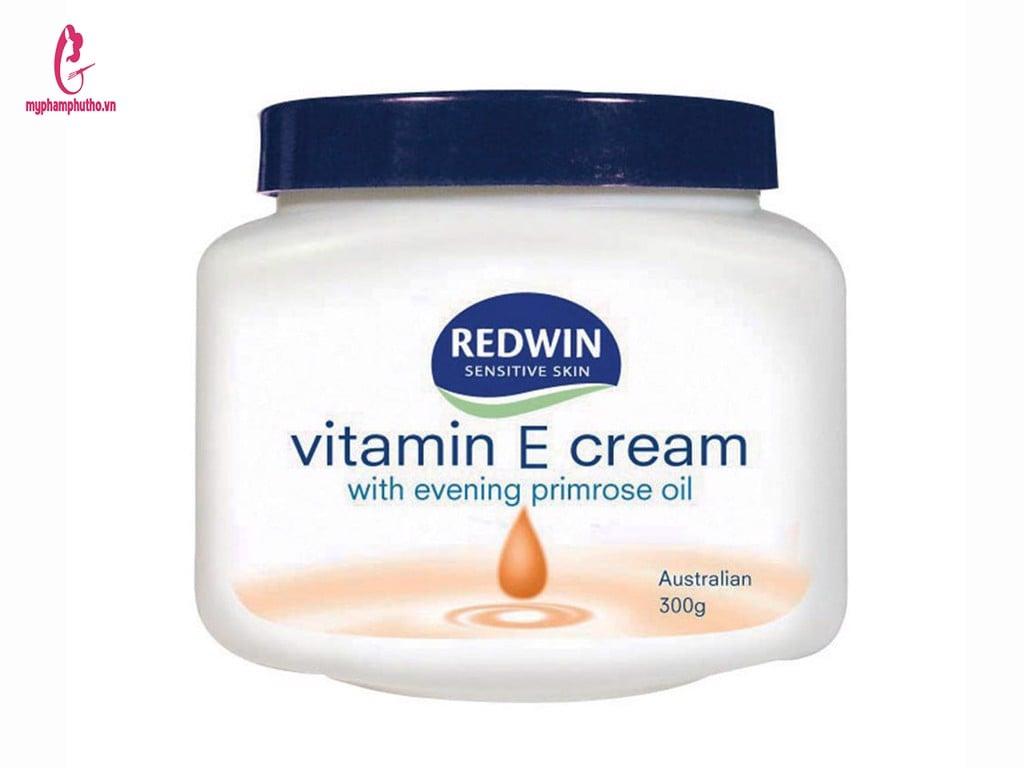 Kem dưỡng ẩm Redwin Vitamin E Cream có công dụng gì Có tốt không
