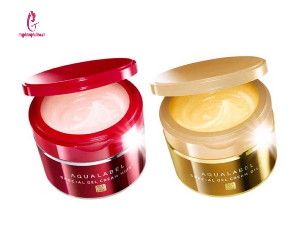 kem shiseido aqualabel 5 trong 1