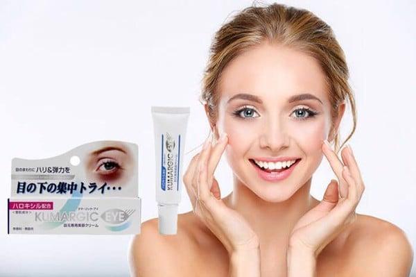 Kem trị thâm quầng mắt Kumargic Eye Cream Nhật Bản