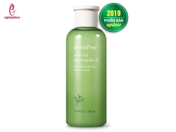 Bộ Innisfree trà xanh Balancing EX full (6 món)