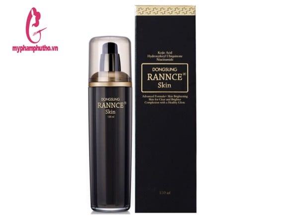 Thành phần công dụng tonertrị nám DongSung Rance Cream Hàn Quốc