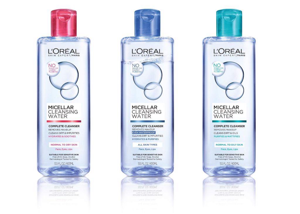 Nước tẩy trang L'Oréal Micellar Water 3-in-1 Deep Cleansing