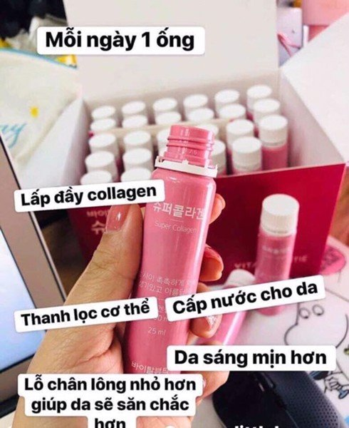 Nước uống Collagen VB Vital Beautie