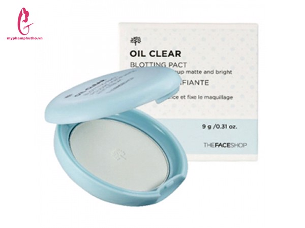 Phấn nén kiềm dầu Oil Clear The Face Shop
