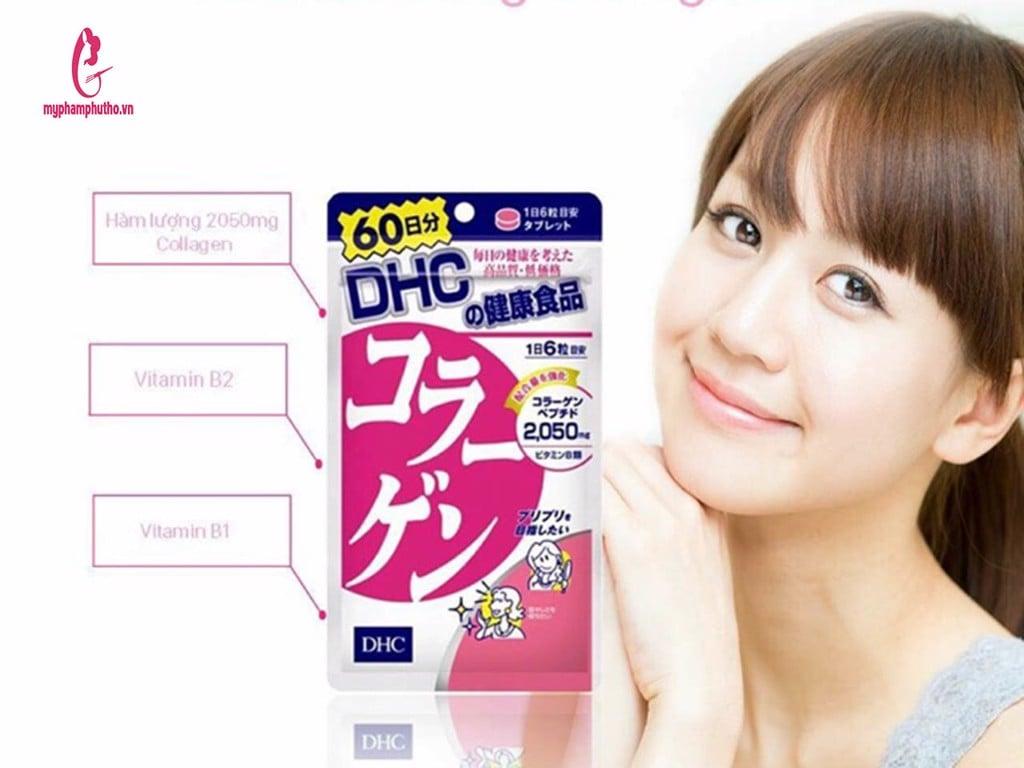 review Viên Uống Collagen DHC của Nhật