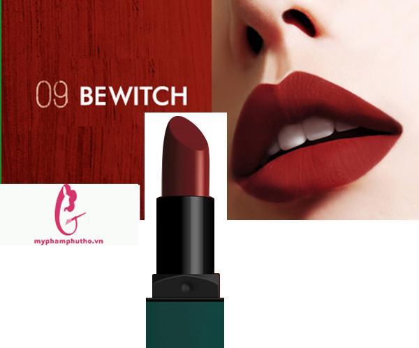 Son Bbia 09 Bewitch màu đỏ tươi: