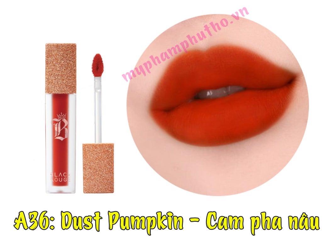 Son Black màu A36: Dust Pumpkin - Cam pha nâu