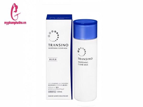 Sữa dưỡng trị nám Transino whitening clear milk 120ml Nhật Bản