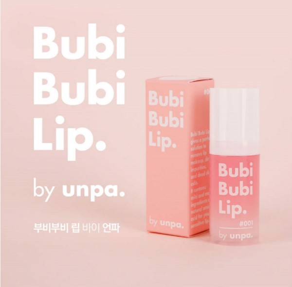 Tẩy da chết môi Unpa Bubi Bubi Lip