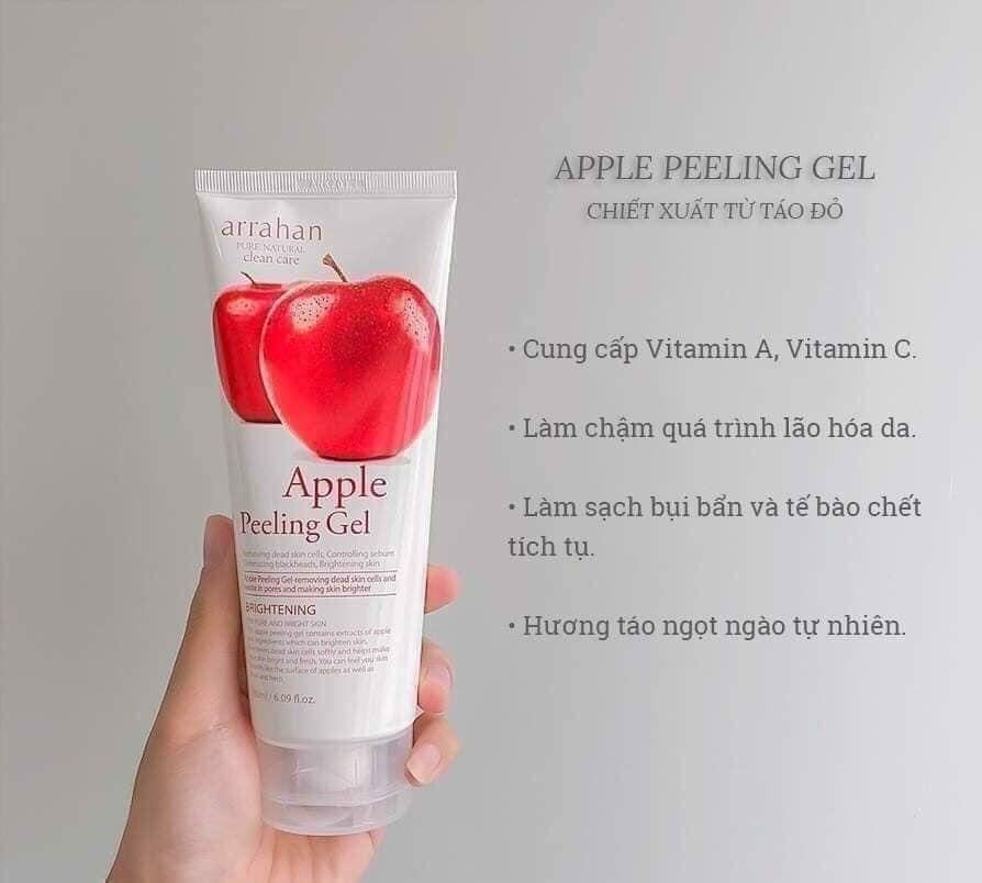 Tẩy tế bào chết Arrahan Apple Peeling Gel hương táo