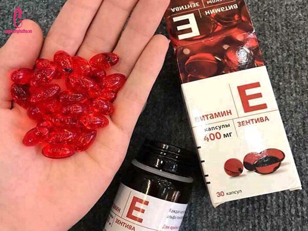 Thành phẩn của Viên uống Vitamin E Zentiva 400mg - 30 viên :