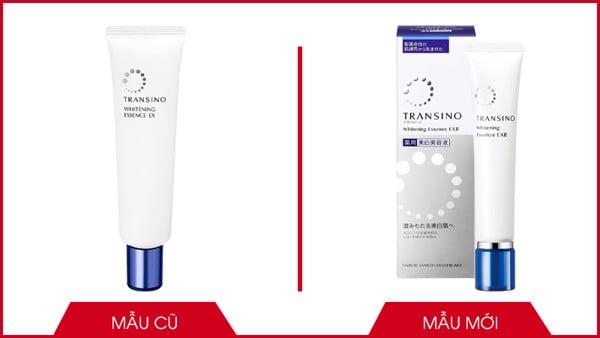 Tinh chất serum trị nám Transino Whitening Essence EX Nhật Bản mẫu mới và mẫu cũ