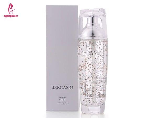 công dụng Tinh chất dưỡng trắng Bergamo White Vita Luminant Essence