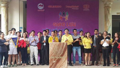 The program of cultural exchange between PhuMy Group, Geleximco and TrungThanh Foods