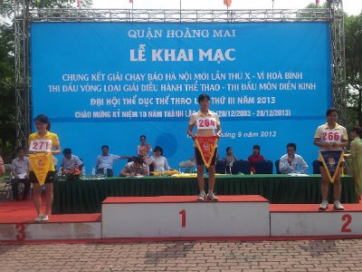 TrungThanh Foods participated in the run of the 40th Hanoi Newspaper -