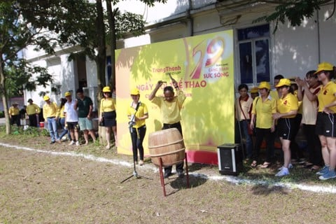 TrungThanh organizes the 19 th anniversary sport festival