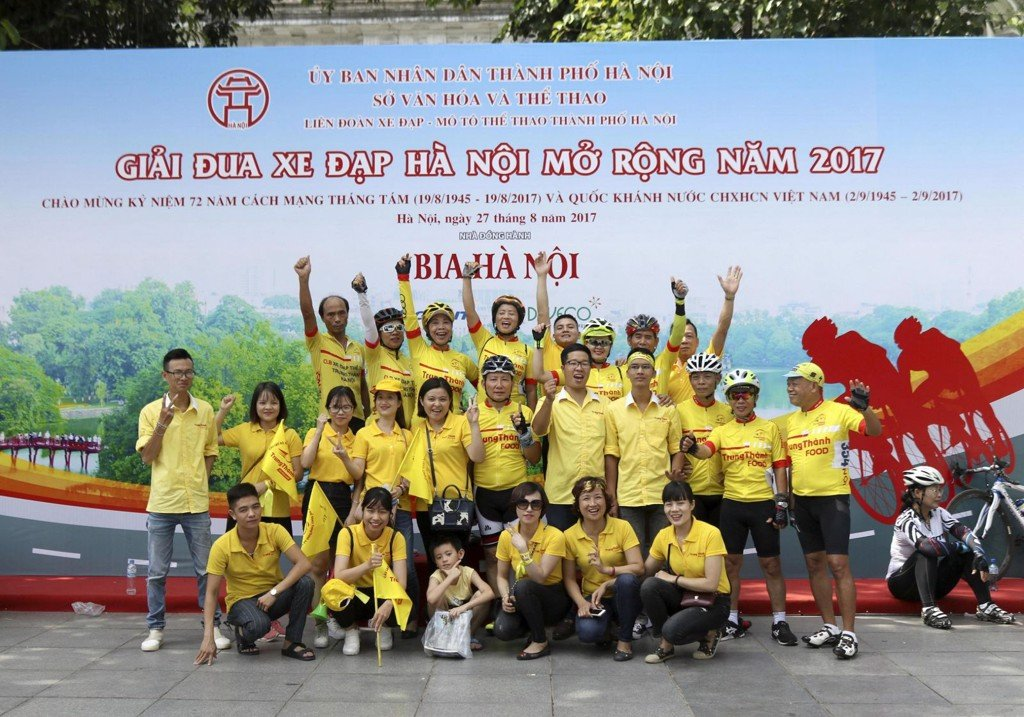 TrungThanh – Hanoi Bicycle Club took part in Hanoi Open Cycling Race 2017
