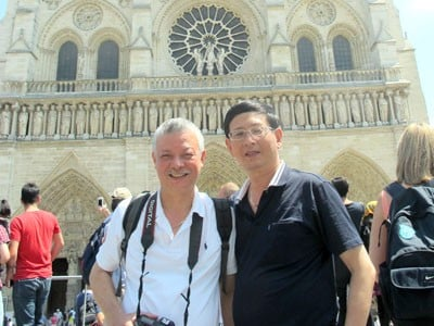 President - General Director Ngoc Chung visited and worked in Europe