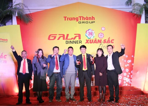 Be jubilant with TrungThành Gala Dinner – Spring Colour 20 years old