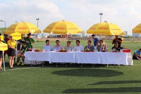 TrungThanh Foods organizes the football league