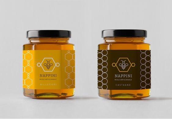 Lọ đựng mật ong