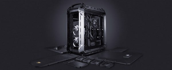 Vỏ Case Cougar Panzer Max - The Ultimate Full Tower