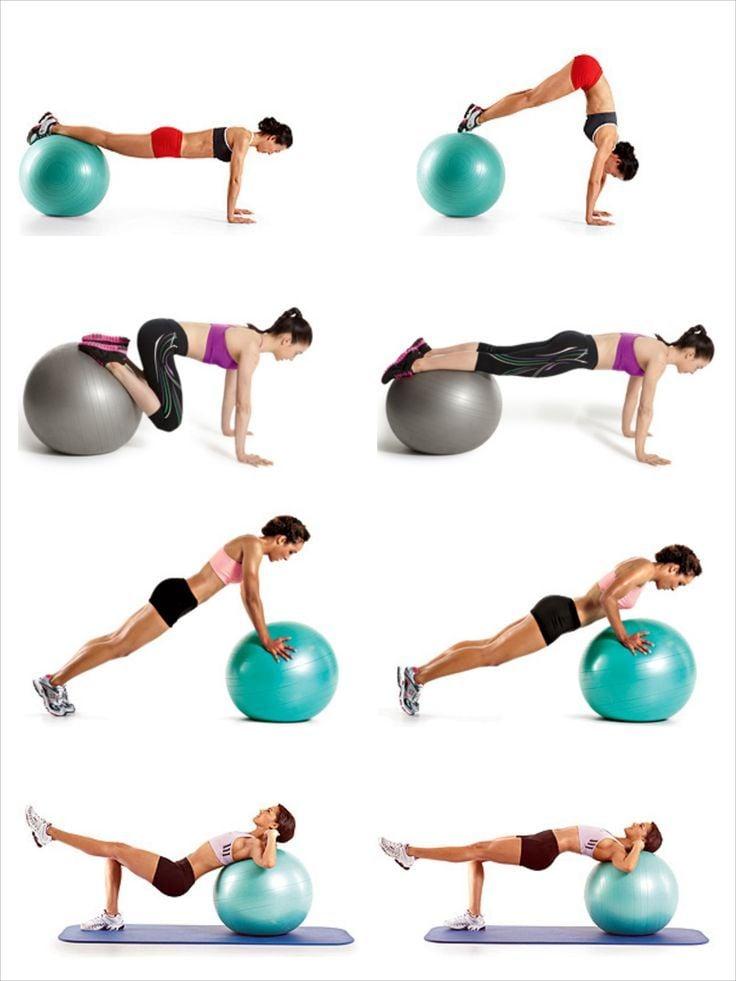 Video hướng dẫn tập luyện cùng bóng chữa đau lưng, đau cổ  vai gáy