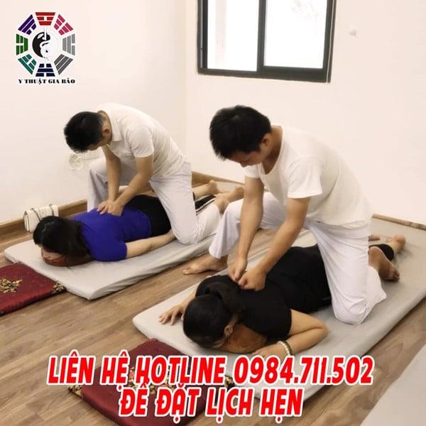 lớp massage trị liệu y thuật gia bảo miễn phí