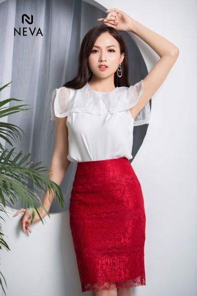 các mẫu chân váy công sở đẹp 2019 1