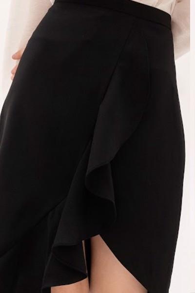 Chân váy đen