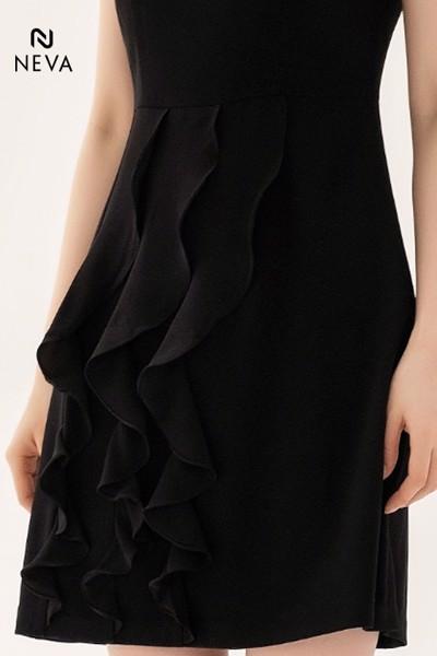 Váy đầm chữ A trễ vai