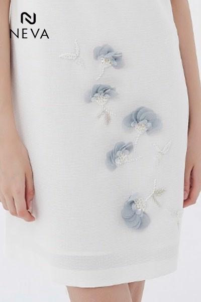 váy đầm màu trắng