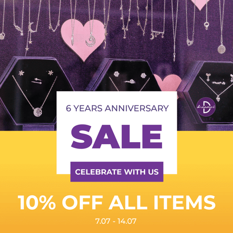 DDREAMER JEWELRY - HAPPY 6 YEARS ANNIVERSARY PROMOTION