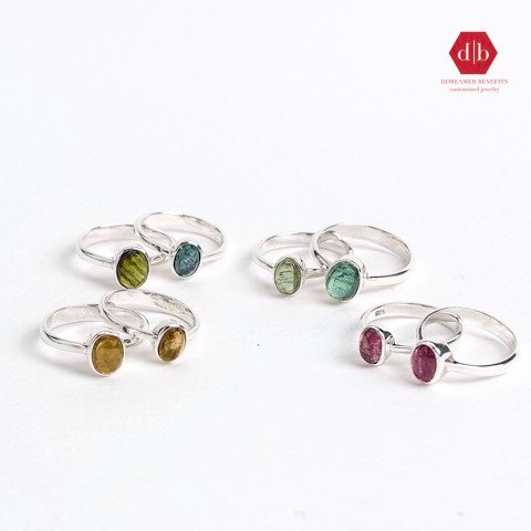 Collection Nhẫn Đá Tourmaline