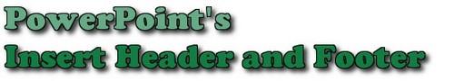 PowerPoint - Chèn, thêm Header và Footer trong PowerPoint
