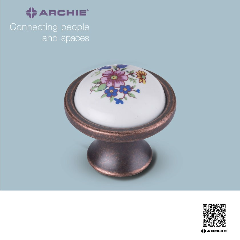 Tay nắm tủ Archie