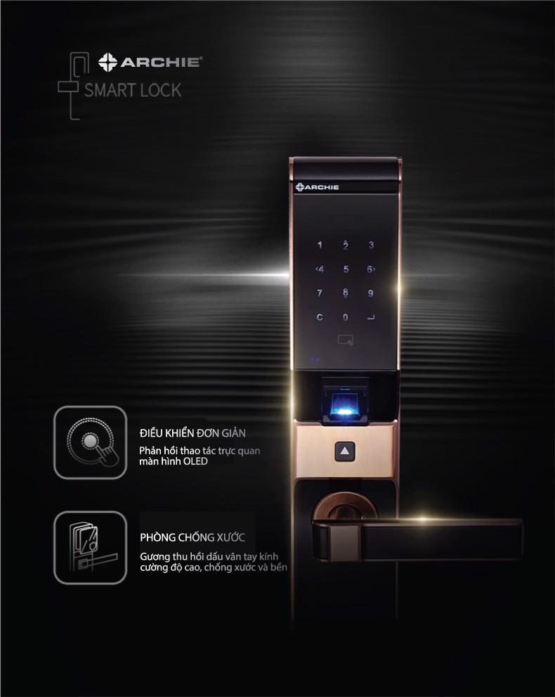 khóa vân tay điện tử