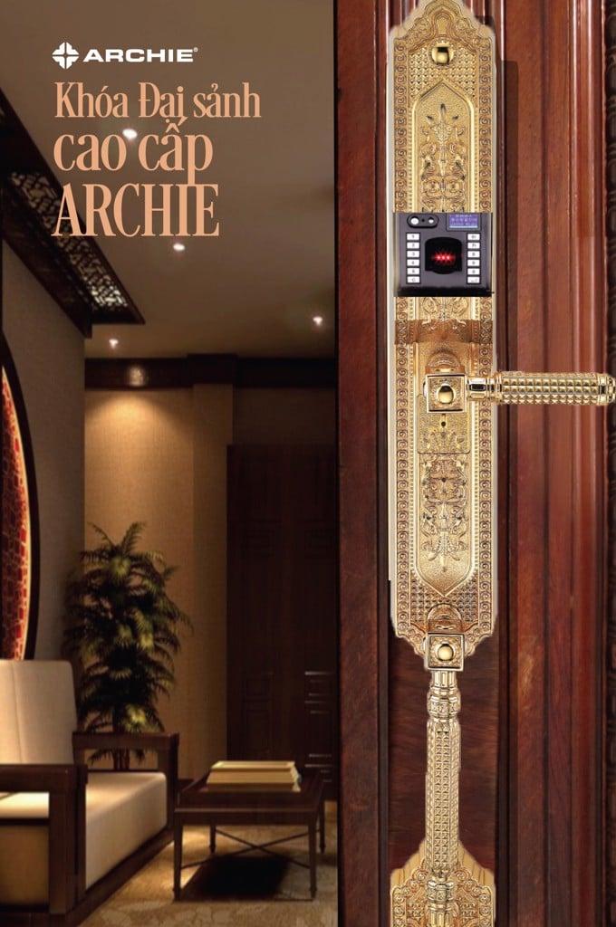 Khóa cửa đại sảnh Archie